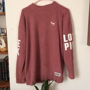 PINK VS Pink Sweater
